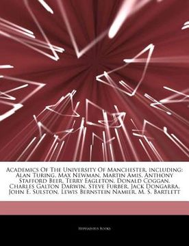 portada articles on academics of the university of manchester, including: alan turing, max newman, martin amis, anthony stafford beer, terry eagleton, donald