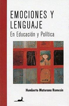 portada Emociones y Lenguaje en Educacion y Politica