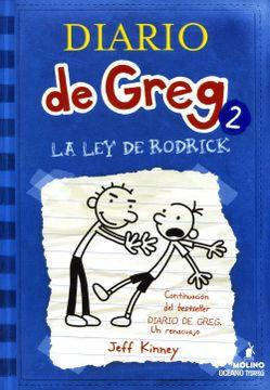 portada Diario de Greg 2. La ley de Rodrick (Nueva Edicion, Rustica