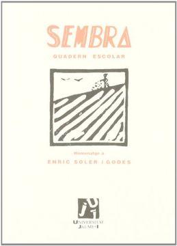 portada SEMBRA Quadern Escolar. Homenatge a Enric Soler i Godes