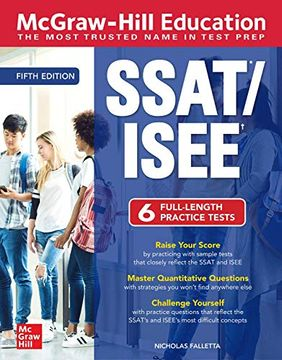 portada Mcgraw-Hill Education Ssat (libro en Inglés)