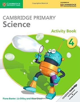 portada Cambridge Primary Science. Stage 4. Per la Scuola Media. Con Espansione Online. Con Libro: Activity Book (libro en Inglés)