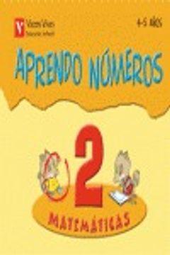 portada Aprendo Numeros Cuaderno 2 (4-5 Años)