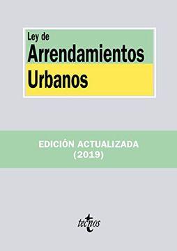 portada Ley de Arrendamientos Urbanos (Derecho - Biblioteca de Textos Legales)