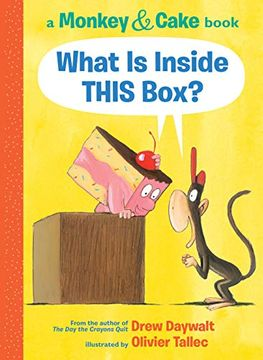 portada What is Inside This Box? (Monkey and Cake #1) (Monkey & Cake) (libro en Inglés)