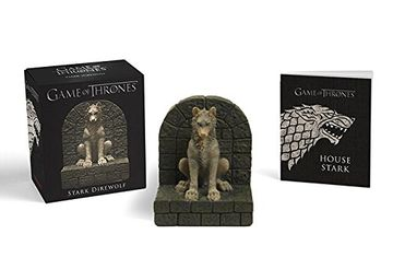 portada Game of Thrones: Stark Direwolf (Mixed media product) (libro en Inglés)