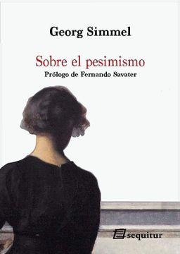 portada Sobre el Pesimismo