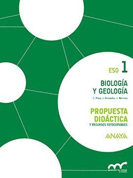 Libro Biología Y Geología 1 Propuesta Didáctica Aprender Es Crecer En Conexión Concepción Plaza Escribano Isbn 9788467850772 Comprar En Buscalibre