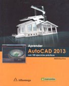 portada Aprender Autocad 2013. Con 100 Ej. Mediaactive