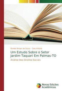 portada Um Estudo Sobre o Setor Jardim Taquari Em Palmas-TO: Análise Dos Direitos Sociais