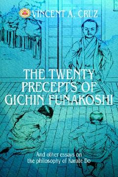 portada the twenty precepts of gichin funakoshi: and other essays on the philosophy of karate do