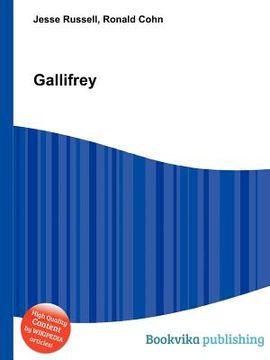 portada Gallifrey (libro en Inglés)