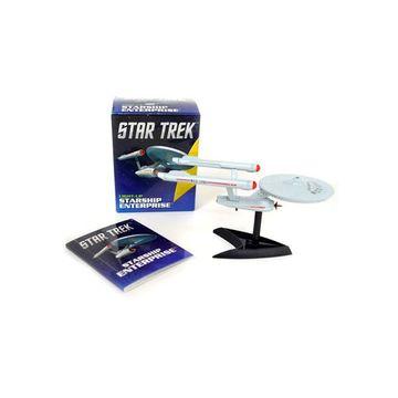 portada Star Trek: Light-Up Starship Enterprise (rp Minis) (libro en Inglés)