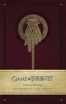 portada Hand of the King: Hardcover Ruled Journal (Insights Journals)