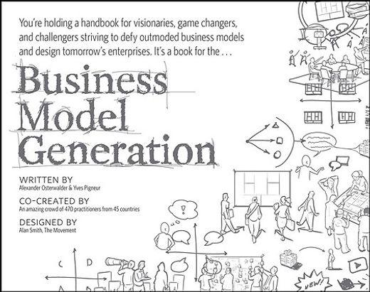 business model generation (generación modelos de negocio, inglés)