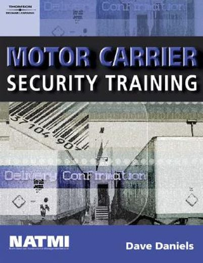 motor carrier security training, student workbook
