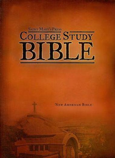 college study bible-nab